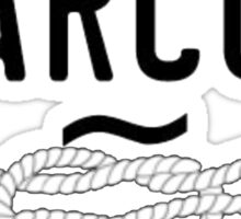 narcos knot Sticker