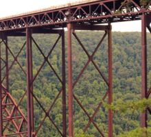 Steel Bridge Over Gorge Sticker