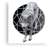 The call of the wolf  Canvas Print
