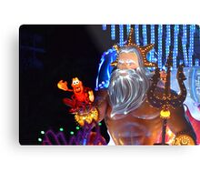 King Triton Paint the Night Metal Print