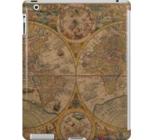Map of the World 1599 iPad Case/Skin