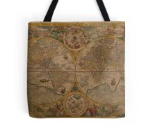 Map of the World 1599 Tote Bag