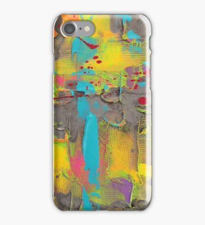 sidewalk graffiti  iPhone Case/Skin