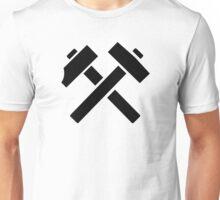 Hammer pick crossed Unisex T-Shirt
