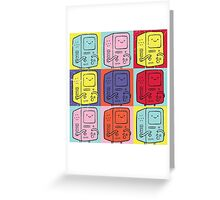 Pop Art Time Greeting Card