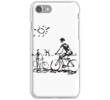 Picasso Bicycle - Biking Sketch iPhone Case/Skin