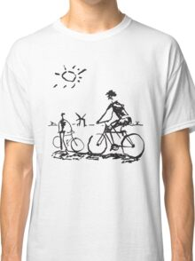 Picasso Bicycle - Biking Sketch Classic T-Shirt
