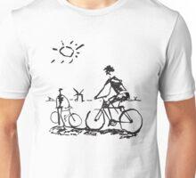 Picasso Bicycle - Biking Sketch Unisex T-Shirt