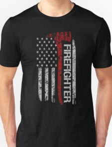 Firefighter tshirts - Firefighter Pride American Flag Unisex T-Shirt