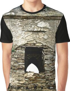 The Tower of St. Columba's Church, Clonmany, Donegal, Ireland Graphic T-Shirt