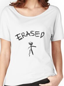 Erased Women's Relaxed Fit T-Shirt