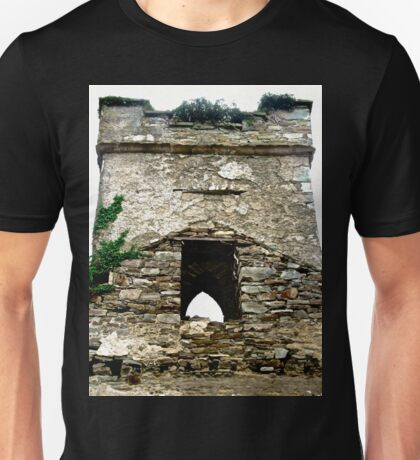 The Tower of St. Columba's Church, Clonmany, Donegal, Ireland Unisex T-Shirt