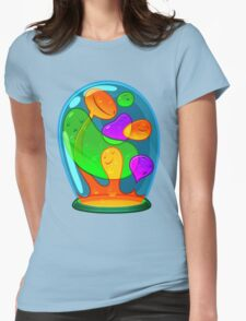 Lavalamp Womens Fitted T-Shirt