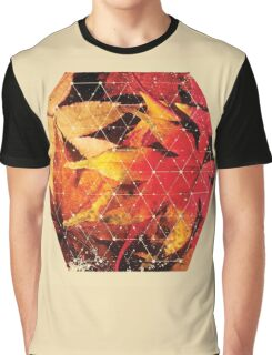 Nature and Geometry - Autumn Leaves 2 Graphic T-Shirt