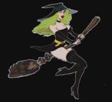 Green Witch by Radwulf