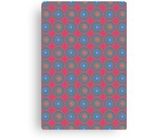 Spinners Pattern Canvas Print