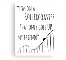 The Fault in Our Stars Rollercoaster Canvas Print