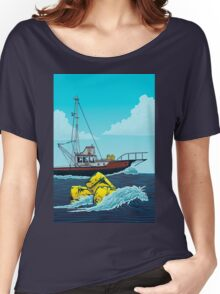 Jaws: The Orca Illustration Women's Relaxed Fit T-Shirt