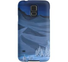 Late night on the mountain Samsung Galaxy Case/Skin