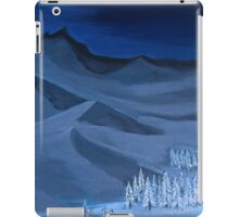 Late night on the mountain iPad Case/Skin