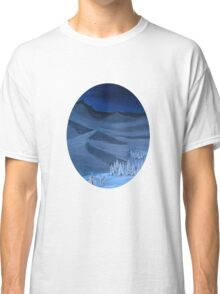 Late night on the mountain Classic T-Shirt
