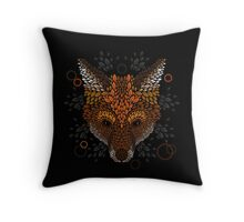 Fox Face Throw Pillow