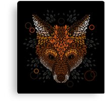 Fox Face Canvas Print