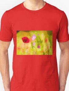 Poppy by David Tovey Unisex T-Shirt
