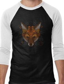Fox Face Men's Baseball ¾ T-Shirt