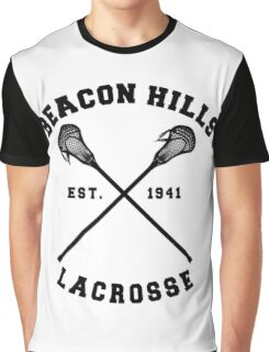 Beacon Hills Lacrosse - Teen Wolf! Graphic T-Shirt