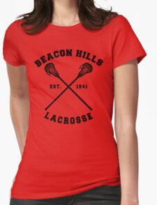 Beacon Hills Lacrosse - Teen Wolf! Womens Fitted T-Shirt