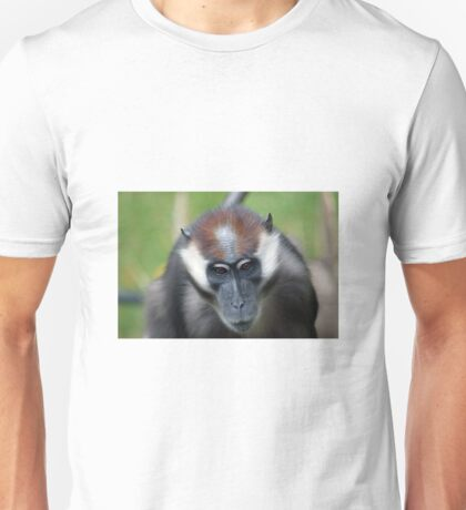 CHERRY-CROWNED MANGABEY MONKEY Unisex T-Shirt
