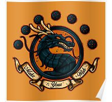 Dragon Balls Poster