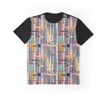 Graphic pattern of geometric stripes Graphic T-Shirt