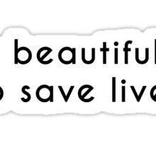 Greys anatomy quote  Sticker