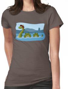 Nessie! Womens Fitted T-Shirt