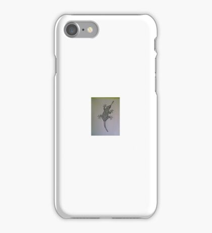 Gecko Action! iPhone Case/Skin