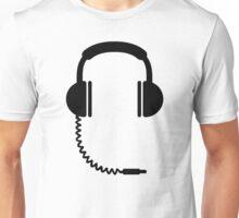 Headphones music sound Unisex T-Shirt