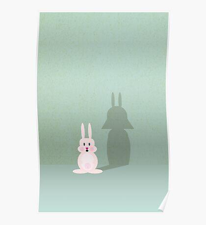 Bunny of the Dark Side VRS2 Poster