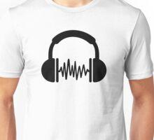 Headphones Frequency DJ Unisex T-Shirt