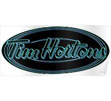 Tim Horton's New Logo Poster