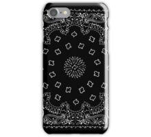 Black Hanky,Handkerchief  iPhone Case/Skin