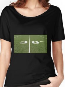Football Field Thirty Women's Relaxed Fit T-Shirt