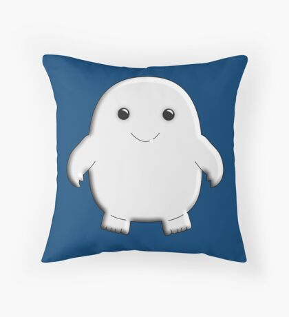 Fat Baby Throw Pillow