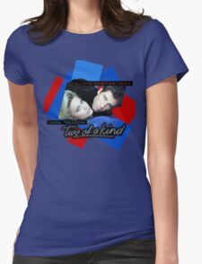 Two Of A Kind - ONJ & John Travolta Womens Fitted T-Shirt