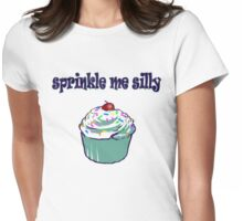 Sprinkle Me Silly Womens Fitted T-Shirt
