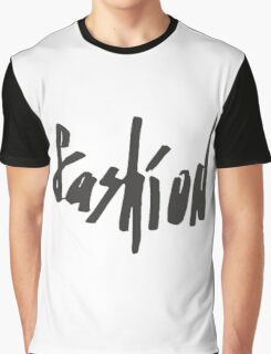 Lettering fashion  Graphic T-Shirt