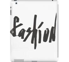 Lettering fashion  iPad Case/Skin
