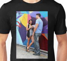 Couple Talking Unisex T-Shirt