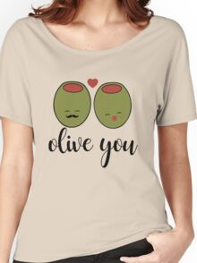 Olive you Women's Relaxed Fit T-Shirt